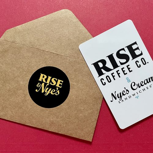 Rise & Nye's Gift Cards
