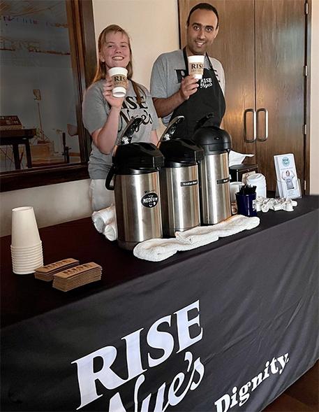 Rise & Nye's Coffee and Ice Cream Shop